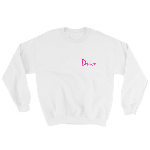 Drive Scorpion Sweatshirt (White) - Masters of Cinema Clothing