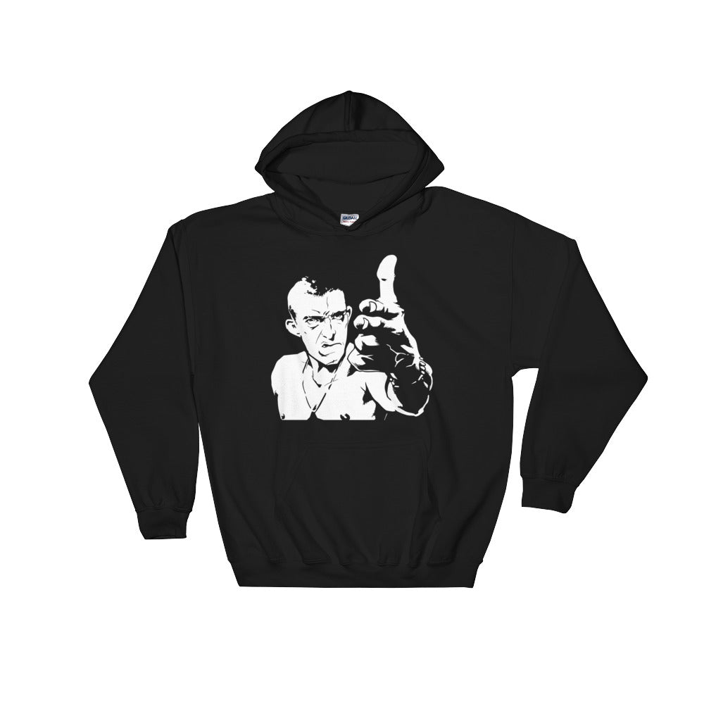 So Far So Good Hoodie (Black) - Masters of Cinema Clothing