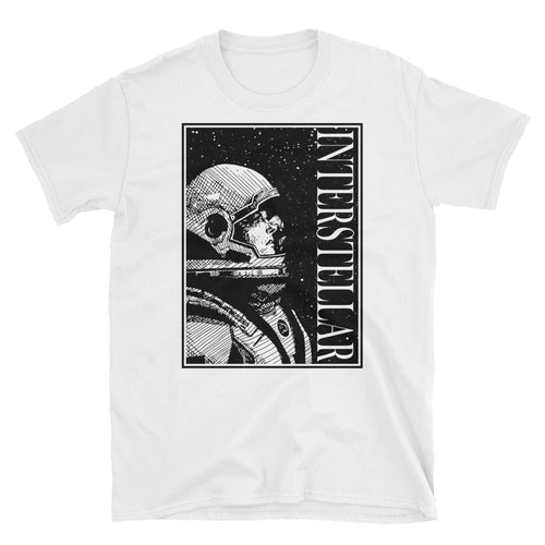 Interstellar T-Shirt | White - Masters of Movies