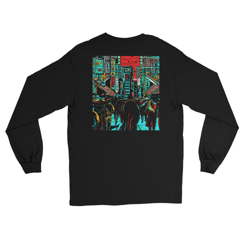 Tears in the Rain Longsleeve | Black - Masters of Movies
