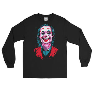 Joker Long Sleeve T-Shirt (Black) - Masters of Cinema Clothing