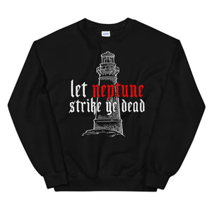 The Lighthouse Neptune | Sweatshirt | Black - Masters of Cinema Clothing