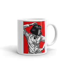 Load image into Gallery viewer, Mia Wallace Mug - Masters of Cinema Clothing