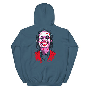 Joker Emblem Hoodie (Limited Edition Blue) - Masters of Movies