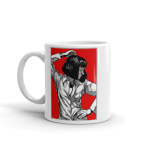 Mia Wallace Mug - Masters of Cinema Clothing