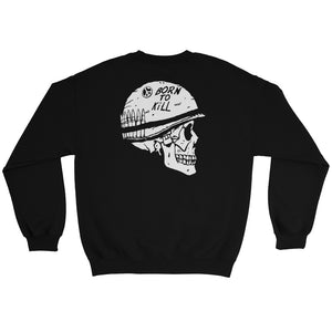 Born to Kill Sweatshirt | Black - Masters of Cinema Clothing