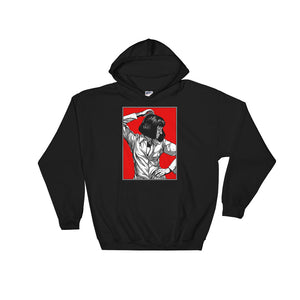 Mia Wallace Design Hoodie (Black) - Masters of Cinema Clothing