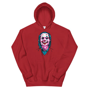 Joker Hoodie (Limited Edition Red) - Masters of Cinema Clothing