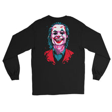 Load image into Gallery viewer, Joker Emblem Long Sleeve T-Shirt (Black) - Masters of Cinema Clothing