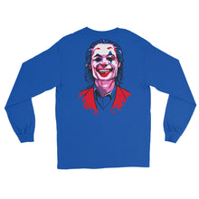 Load image into Gallery viewer, Joker Emblem Long Sleeve T-Shirt (Limited Edition Blue) - Masters of Cinema Clothing