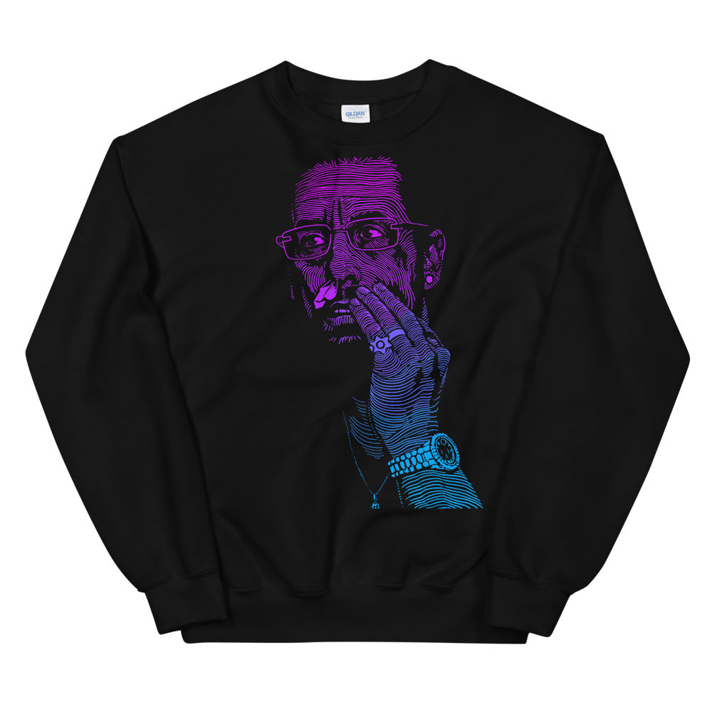 Uncut Neon Gem | Sweatshirt | Black | Limited Edition - Masters of Cinema Clothing