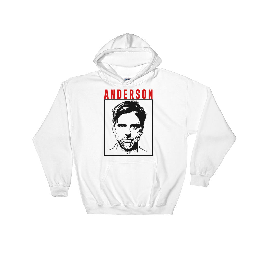 Anderson Hoodie | White - Masters of Cinema Clothing