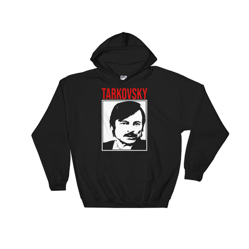 Tarkovsky Design Hoodie (Black) - Masters of Cinema Clothing