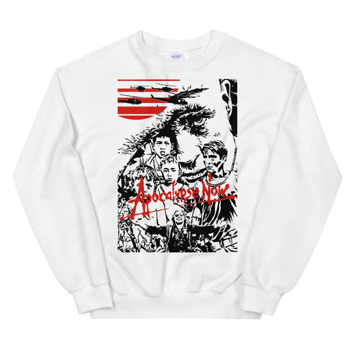 Apocalypse Now Front | Sweatshirt | White - Masters of Movies