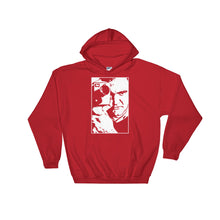 Load image into Gallery viewer, Tarantino Design Hoodie (Red) - Masters of Cinema Clothing