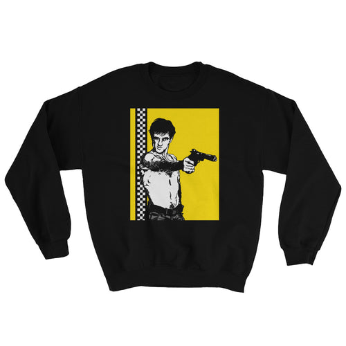 You Talking to Me? Sweatshirt | Black - Masters of Cinema Clothing