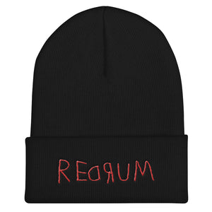 Redrum Beanie - Masters of Cinema Clothing