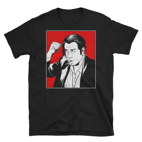 Vince Vega T-Shirt (Black) - Masters of Cinema Clothing