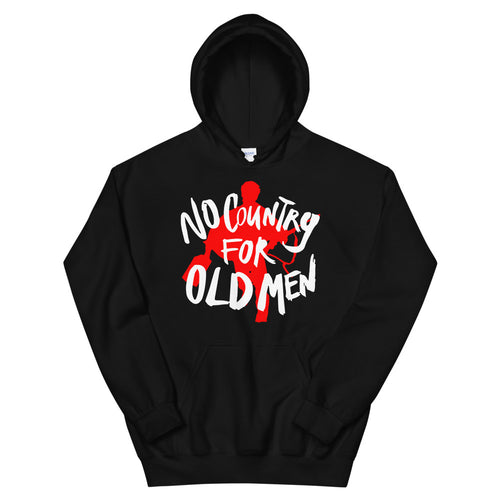 No Country Hoodie | Black - Masters of Movies