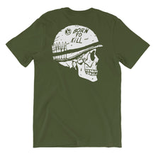 Load image into Gallery viewer, Born to Kill T-Shirt | Green - Masters of Movies