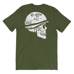 Born to Kill T-Shirt | Green - Masters of Cinema Clothing