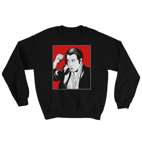 Vince Vega Sweatshirt (Black) - Masters of Movies