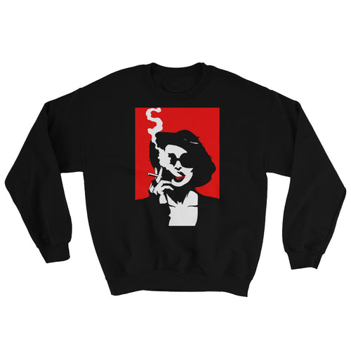 Marla Singer Sweatshirt (Black) - Masters of Cinema Clothing