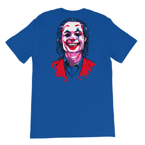 Joker Emblem T-Shirt (Limited Edition Blue) - Masters of Cinema Clothing