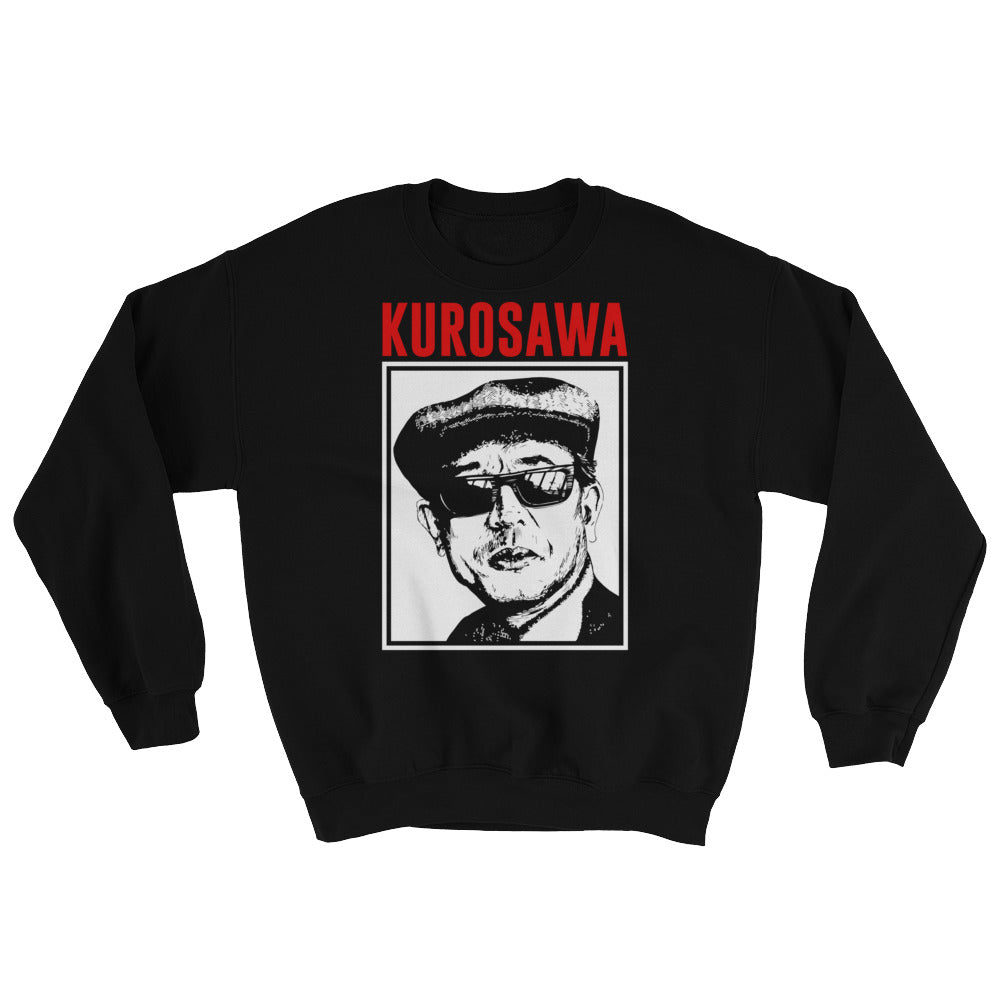 Kurosawa Sweatshirt (Black) - Masters of Cinema Clothing