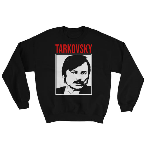 Tarkovsky Design Sweatshirt (Black) - Masters of Cinema Clothing