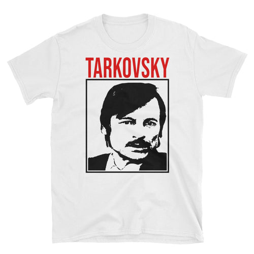 Tarkovsky Design T-Shirt (White) - Masters of Cinema Clothing