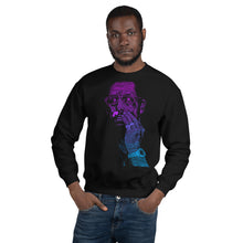 Load image into Gallery viewer, Uncut Neon Gem | Sweatshirt | Black | Limited Edition - Masters of Cinema Clothing