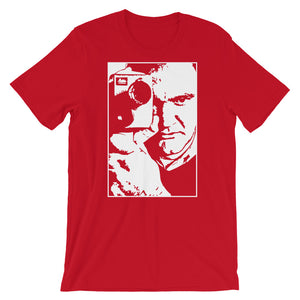 Tarantino Design T-Shirt (Red) - Masters of Movies
