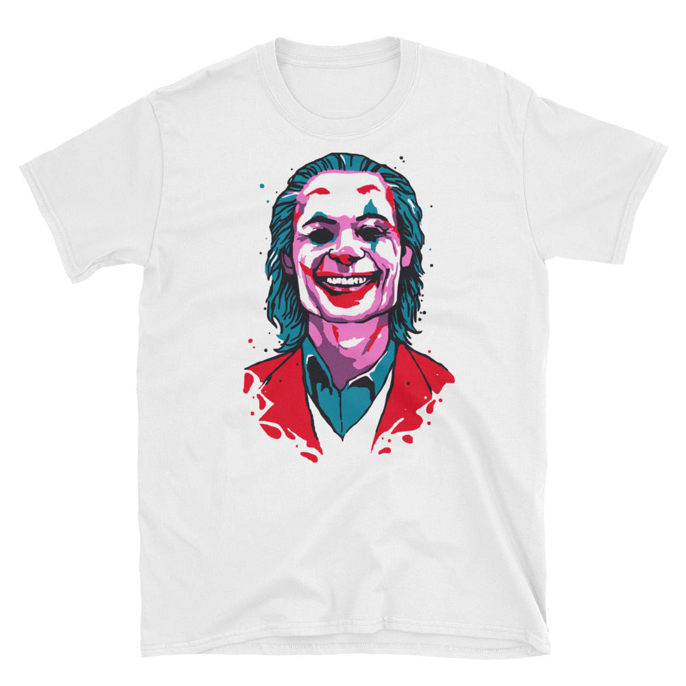Joker T-Shirt (White) - Masters of Cinema Clothing