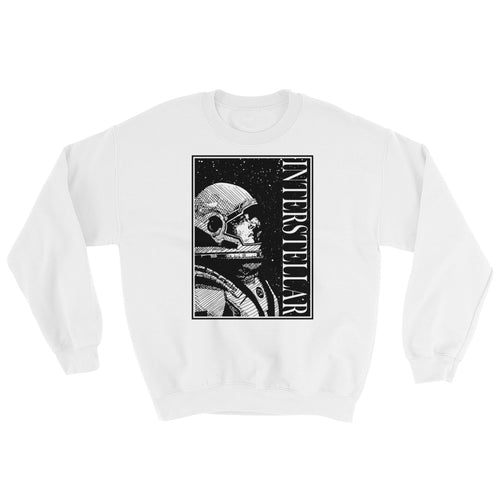 Interstellar Sweatshirt | White - Masters of Movies