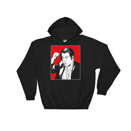 Vince Vega Hoodie (Black) - Masters of Movies