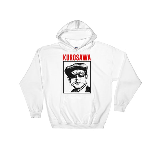 Kurosawa Hoodie (White) - Masters of Cinema Clothing