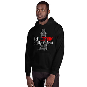 The Lighthouse Neptune | Hoodie | Black - Masters of Movies