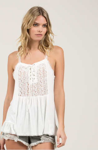 Evening Dusk Lace Cami