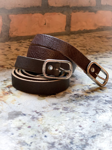 CowboysBelt Textured Leather Belt