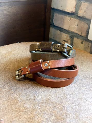 Basic Genuine Leather Belt