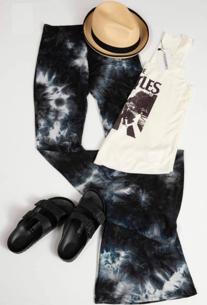 Disco Flare Navy Bell Bottoms
