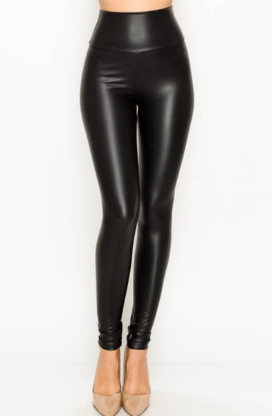 Faux Leather Highwaist Legging