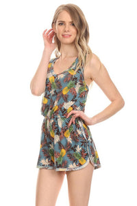 Colada Breeze Pineapple Romper