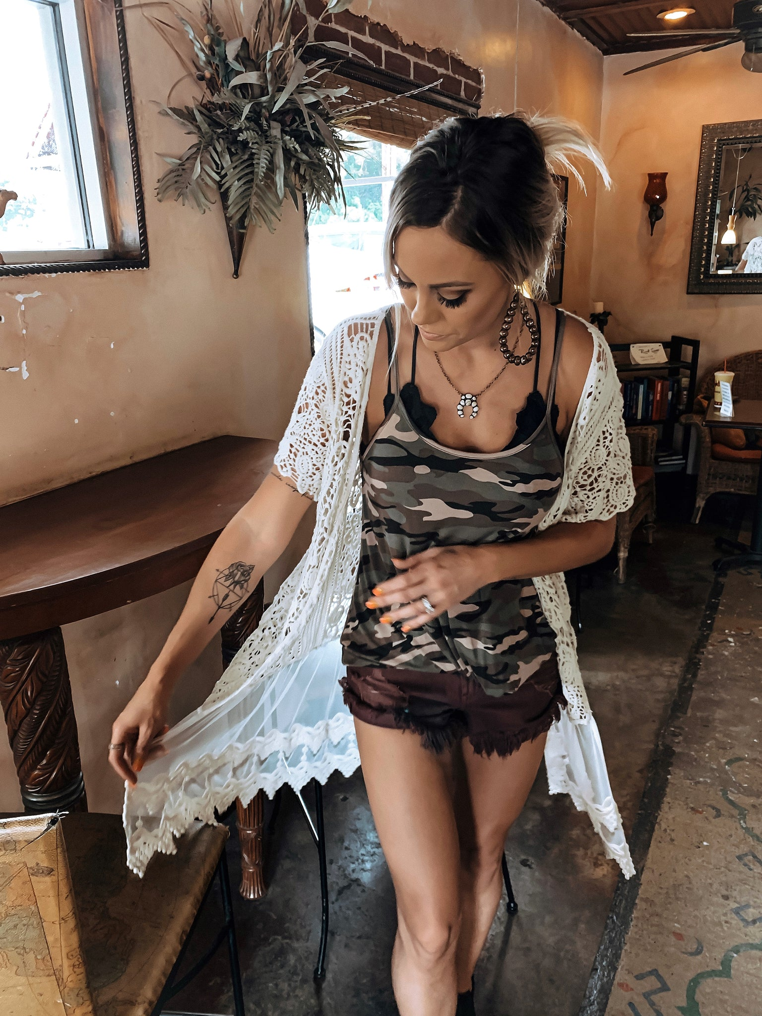 Ready For Action Camo Tank