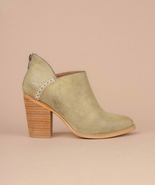 Sage Western Low Ankle Bootie