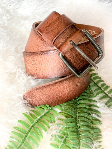 CowboysBelt Basic Tan Leather Belt