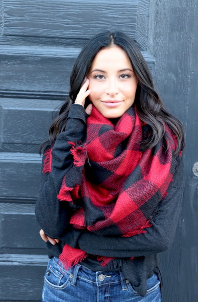 Holiday Blanket Scarf