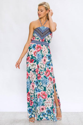 Radiance Over Me Halter Dress