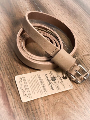 Sand Genuine Leather Belt